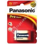 Panasonic 9V Pro Power Alkaline Battery - Single