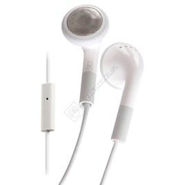 White iPhone Headphones with Microphone - ES1569784