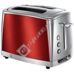 Russell Hobbs Luna 23220 2 Slice Toaster - Solar Red