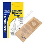 Electruepart BAG214 Samsung VPU100 Vacuum Dust Bags - Pack of 5