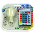 LyvEco 5W GU10 2 Pin Colour Changing Smart LED Bulb With Remote Control
