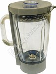 Liquidiser complete - 1.6L - Glass - grey trim