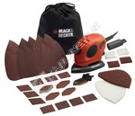 Black & Decker Mouse Detail Sander with Accessories