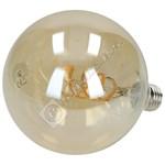 Nedis Smart WiFi 5.5W E27 G125 LED White Twisted Filament Bulb
