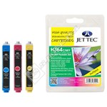 Re-manufactured HP 3 Colour Multipack - H364