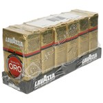 Lavazza Qualita Oro Ground Coffee - 250g (Pack of 6)