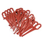 Strimmer Plastic Safety Blades - Pack of 24
