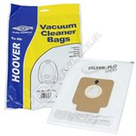 Hoover H58 H63 H64 Compatible Synthetic Dust Bags - Pack of 5