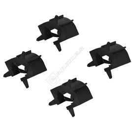 Bosch Cooker Inner Glass to Inner Door Guides - Pack of 4 for HBN9751GB/01 - ES735842