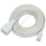 15M Telephone Extension Lead