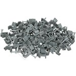 Wellco Twin And Earth Cable Clips - Box of 100