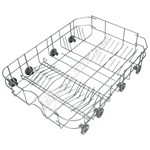 Grey Lower Dishwasher Basket Assembly