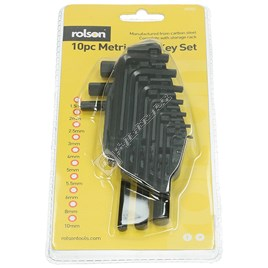 Rolson 10 Piece Allen/Hex Key Set - ES1115628