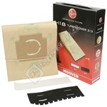 H18 Vacuum Cleaner Dust Bags - Pack of 5