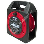 Wellco 4-Socket Extension Cable Reel - 20 Metre