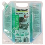Karcher Pressure Washer Patio & Deck Concentrated Detergent - 500ml
