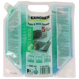 Karcher Pressure Washer Patio & Deck Concentrated Detergent - 500ml - ES1086433