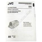 Camcorder Instruction Book GZMS100EK