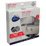 Anti-Odour Cooker Hood Active Carbon Filter