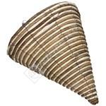 Kingfisher Rope Cone Hanging Basket