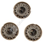 Shaver Heads- Pack of 3