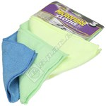 Microfibre Cloths - Pack of 3