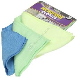 Microfibre Cloths - Pack of 3 - ES1526150