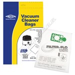 BAG309 High Quality Numatic NVM-1CH Filter-Flo Synthetic Dust Bags - Pack of 10