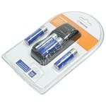 4 Way Battery Charger (For AA/AAA Ni-Cd/Ni-MH Batteries) - UK