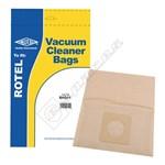 Electruepart BAG41 Rotel U65 Vacuum Dust Bags - Pack of 5