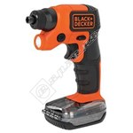 Black & Decker BDCSFS30C 3.6V Cordless Footstorage Screwdriver