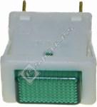 Green Refrigerator Pilot Lamp