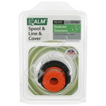 Grass Trimmer Spool & Line With Cover