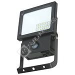 Eterna Black 11W LED PIR Floodlight