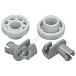 Dishwasher Upper Basket Wheels - Pack of 2