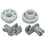 Bosch Dishwasher Upper Basket Wheels - Pack of 2