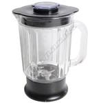 Liquidiser Complete - 1.2L - Glass-Black