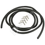 Universal 4-Sided Oven Door Seal Kit - 2m (For Square Corners)