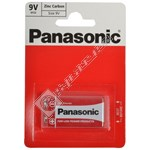 Panasonic 9V Zinc Chloride Battery - Box of 12