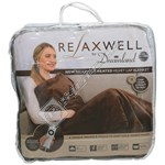 Relaxwell Heated Velvet Lap Blanket