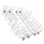 Dishwasher Lower Basket & Wheels