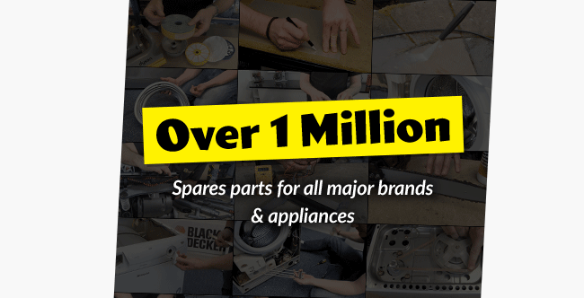 Over 1 Million Electrical Appliance Spare Parts