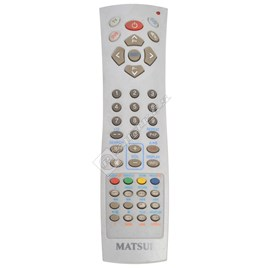 Matsui DVD Player Remote Control for TVDVD1410 - ES1644353