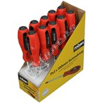 Rolson Box of 10 Pz2 Screwdriver