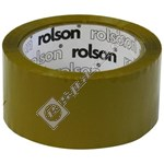 Rolson Brown Parcel Tape