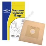 Electruepart BAG241 Dirt Devil Vacuum Dust Bags (DD Type) - Pack of 5
