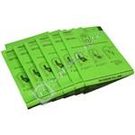 Vacuum Cleaner Hypoallergenic Bag - Pack of 6