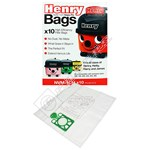 Numatic (Henry) NVM-1CH 3 Layer HepaFlo Filter Vacuum Bags - Pack of 10