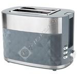 Prestige 47171 Stainless Steel 2 Slice Toaster - Grey
