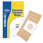 Electruepart BAG168 Goblin Vacuum Dust Bags (Type 460) - Pack of 5